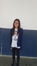 This cardigan that Dana, sixth grade, is wearing is very popular among girls. CAMILLE OLEGARIO, STAFF PHOTOGRAPHER Photo credit: Camille Olegario