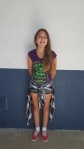 Brooke, seventh grade, wearing a flannel.     CAMILLE OLEGARIO, STAFF PHOTOGRAPHER