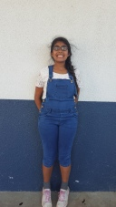 A lot of kids are bringing this type of clothes back such as Ayushi, seventh grade.   CAMILLE OLEGARIO, STAFF PHOTOGRAPHER
