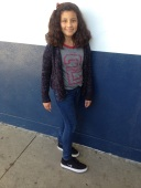 Calixta, seventh grade, is wearing the shoes that are trending now.  CAMILLE OLEGARIO, STAFF PHOTOGRAPHER