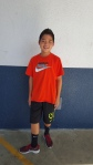 The brand Nike, which seventh grader Ryan is wearing, is very popular.     CAMILLE OLEGARIO, STAFF PHOTOGRAPHER