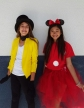 Brooke and Nisha L., seventh grade