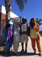 Lisa, Ruth, Willian and Angel A., eighth grade