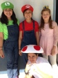Melanie U., Caitlin A., Izabella H. and Victoria G., eighth graders