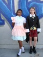 Morgan H. and Ashley, seventh grade